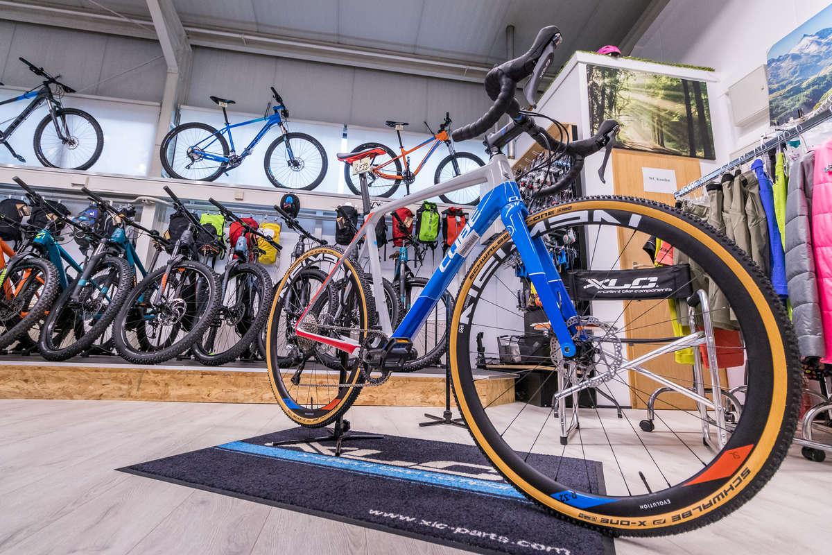 Fahrräder bei Juma Zweiräder in Glattbach bei Aschaffenburg